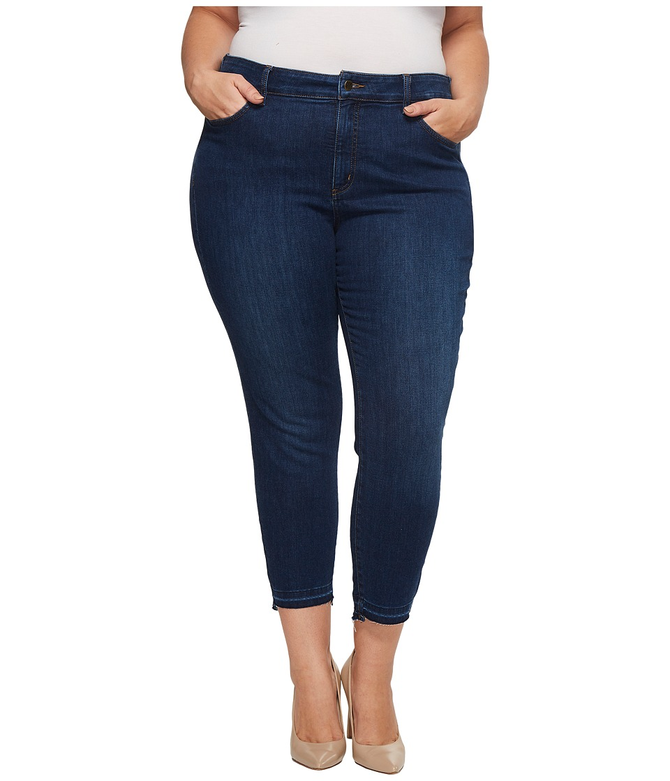 NYDJ Plus Size - Plus Size Alina Ankle w/ Step Released Hem in Cooper (Cooper) Womens Jeans