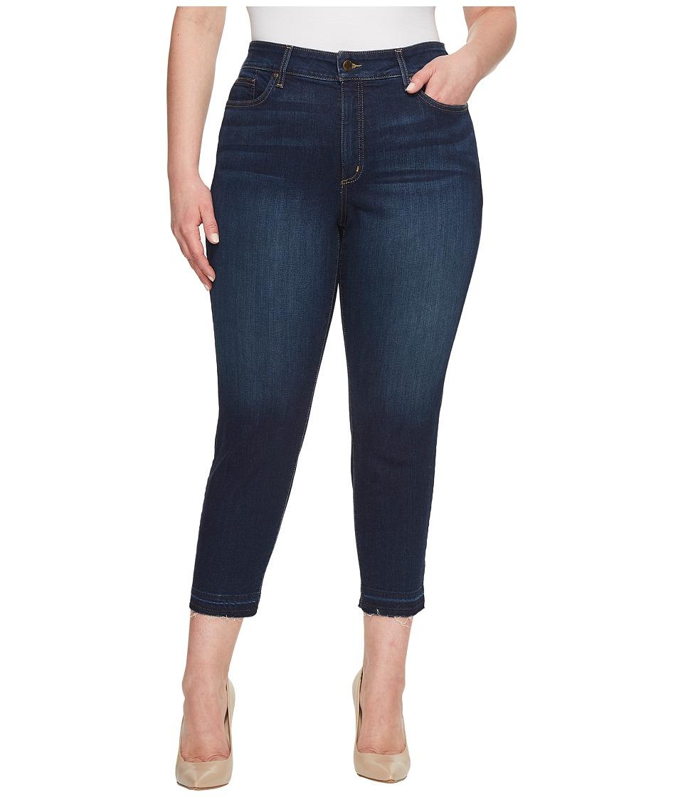 NYDJ Plus Size - Plus Size Alina Ankle w/ Released Hem in Bezel (Bezel) Womens Jeans