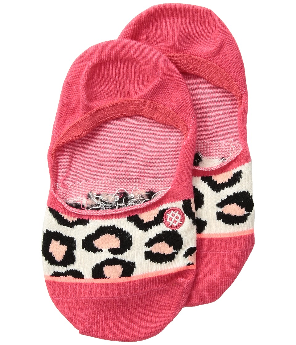 Stance Right Meow (Toddler/Little Kid/Big Kid) (Red) Women's Crew Cut Socks Shoes