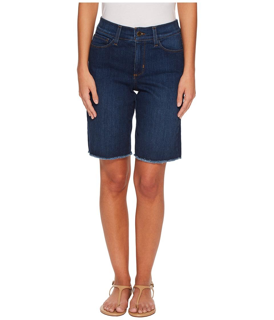 NYDJ Petite - Petite Briella Shorts w/ Fray Hem in Cooper (Cooper) Womens Shorts