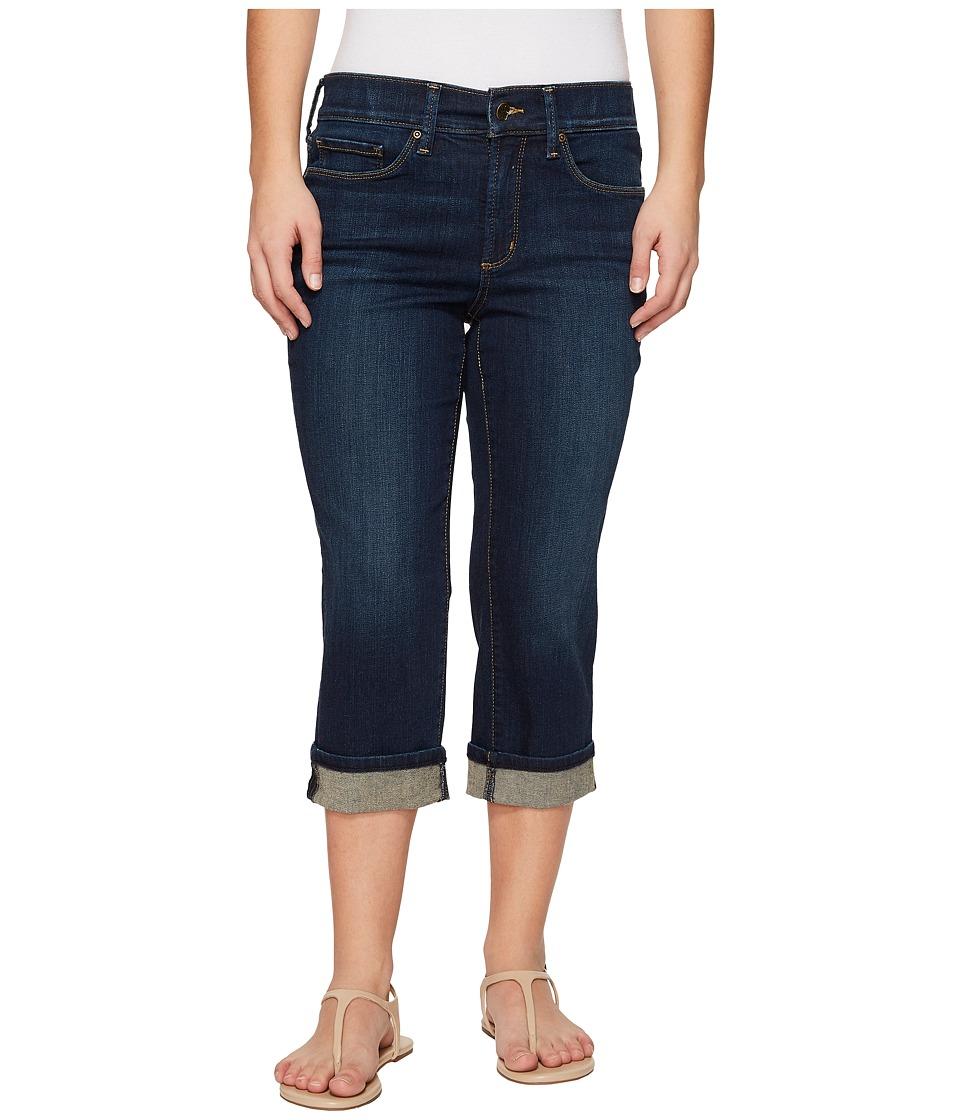 NYDJ Petite - Petite Marilyn Crop Cuff in Bezel (Bezel) Womens Jeans