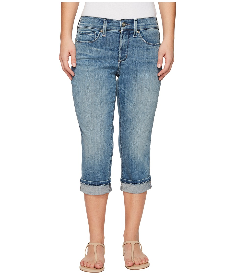 NYDJ Petite - Petite Marilyn Crop Cuff in Pacific (Pacific) Womens Jeans