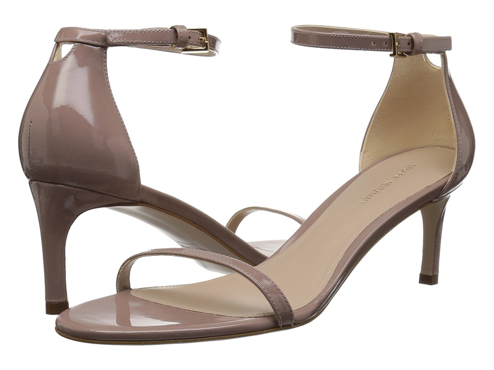 Stuart Weitzman 45nudisttraditional (Mauve Taupe Gloss) Women's Shoes