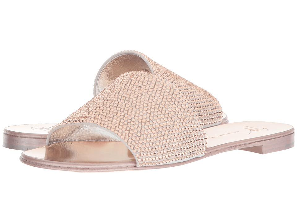 Giuseppe Zanotti E800165 (Cam Bianco/Rose) Women's Shoes