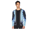 Versace Collection Horse Print Silk Sweater