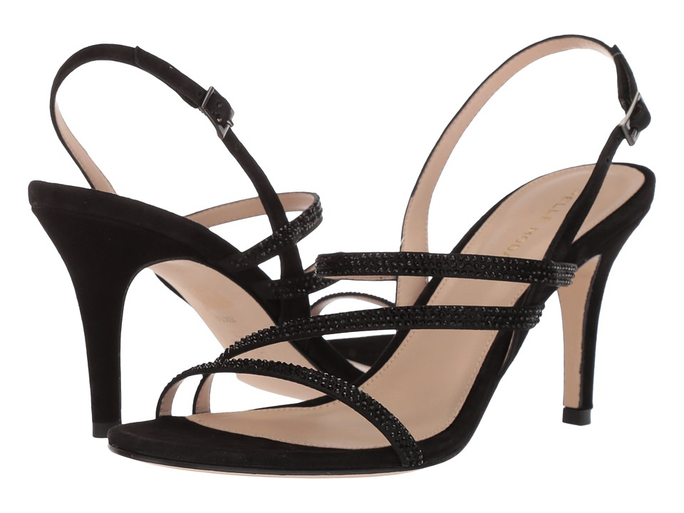 Pelle Moda - Ruma (Black Suede) Womens Shoes