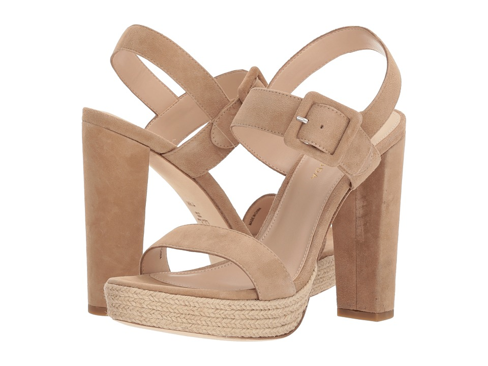 Pelle Moda - Paloma 2 (Latte Suede) Womens Shoes