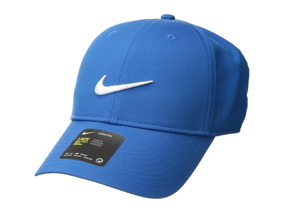 Nike - L91 Cap Tech (Blue Nebula/Anthracite/White) Caps