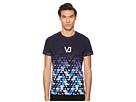 Versace Jeans Logo Ombre Tee Shirt