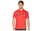 Versace Jeans Double Pocket Polo with Back Stripe