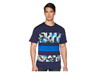 Versace Jeans Versace Jeans Graphic Block Stripe Tee Shirt