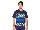 Versace Jeans Graphic Block Stripe Tee Shirt