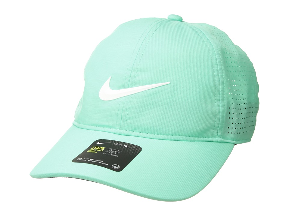 Nike - Aerobill L91 Cap Perf (Green Glow/Anthracite/White) Caps