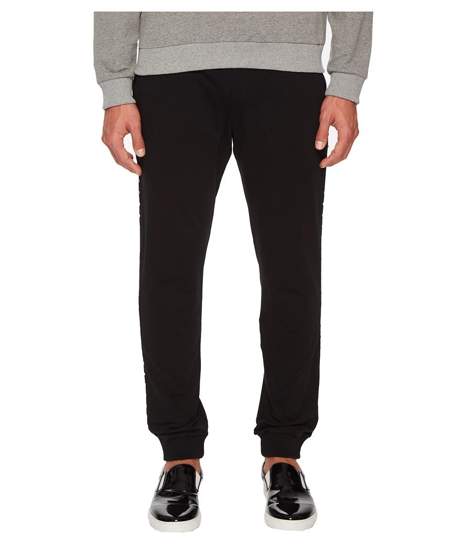 Versace Jeans - Sweatpants with Metal Accents (Black) Men...