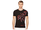 Versace Jeans Palm Print Graphic Tee