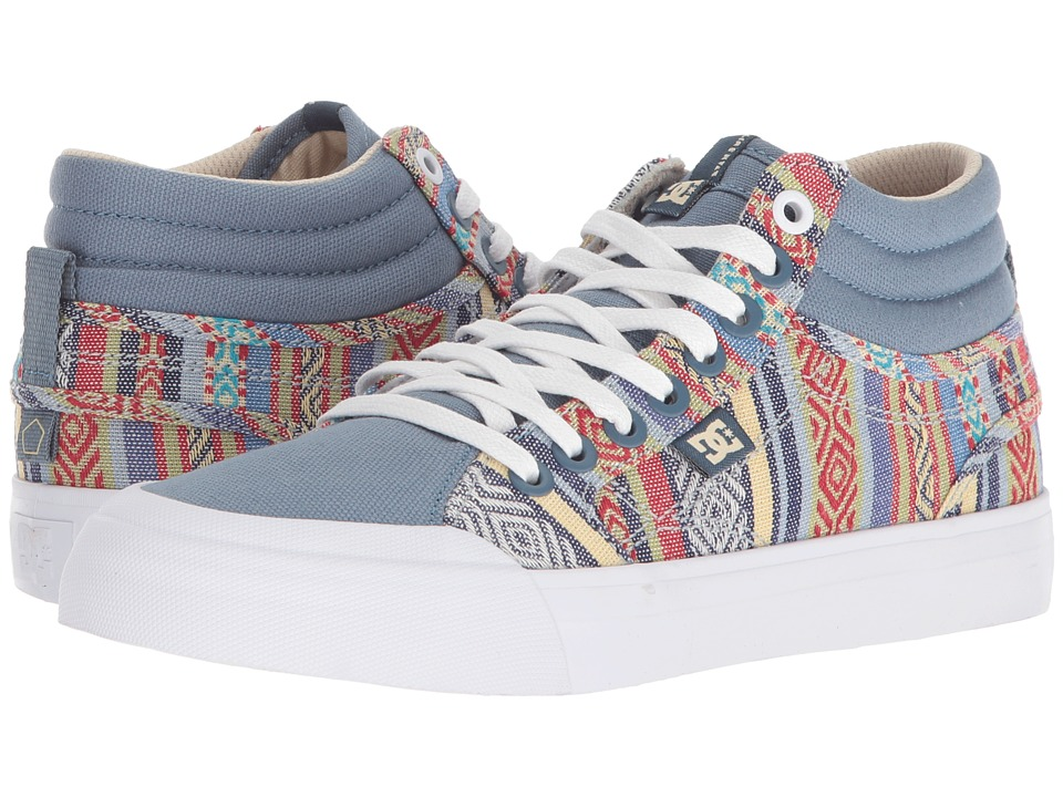 DC Evan Hi TX SE (Multi) Women's Skate Shoes