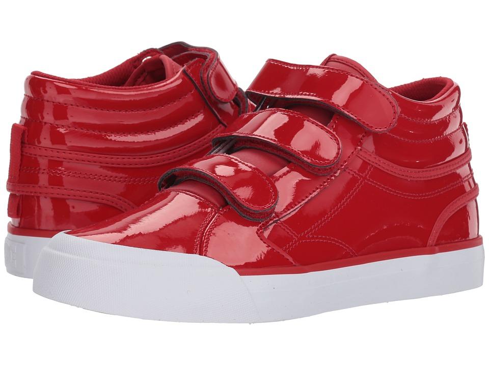 DC Evan Hi V SE (Red) Women's Skate Shoes