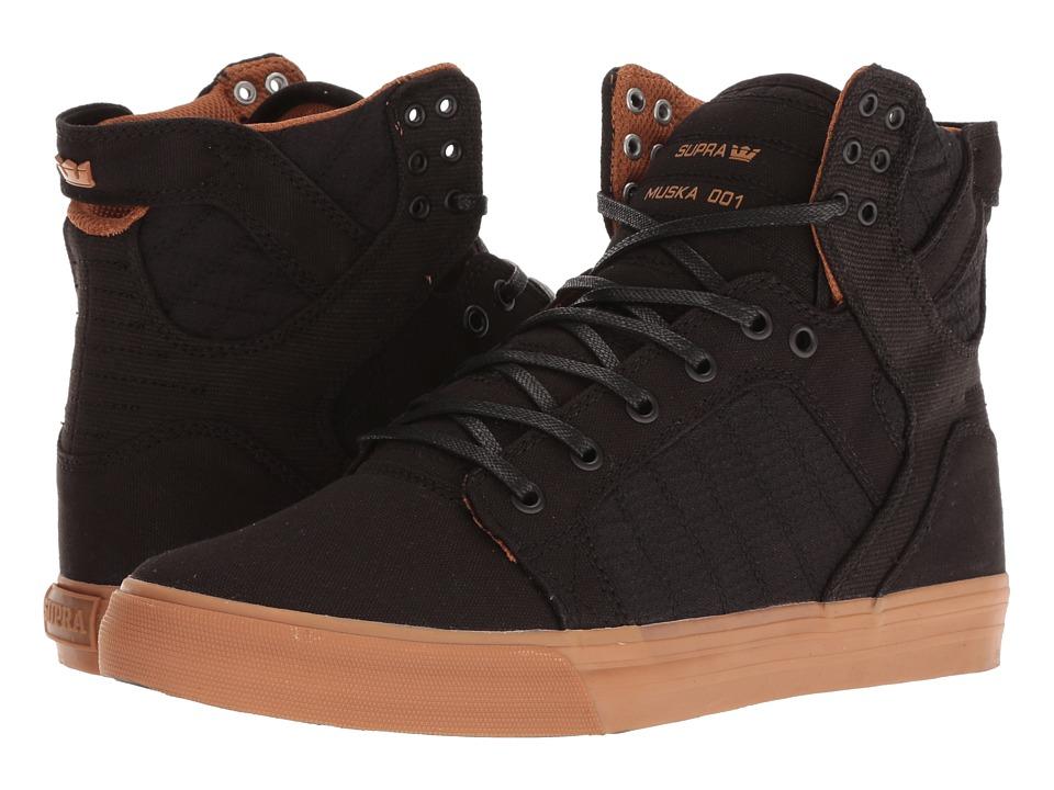 Supra - Skytop (Black/Light Gum) Mens Skate Shoes
