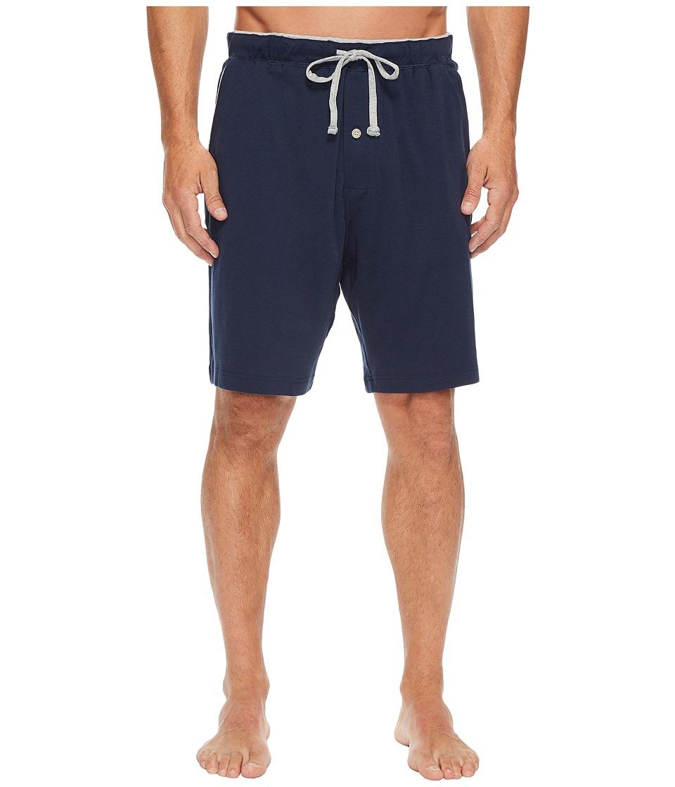 Nautica Knit Sleep Shorts (Maritime Navy) Men