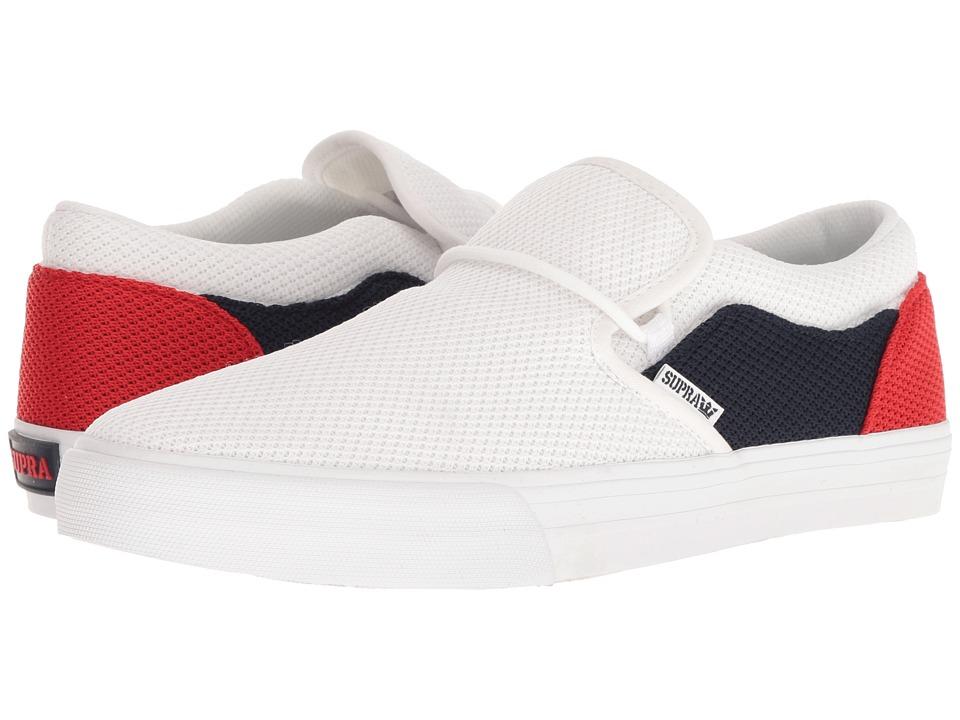 Supra - Cuba (White/White) Mens Skate Shoes