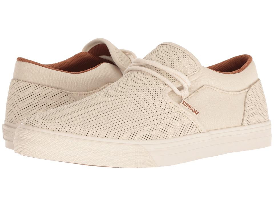 Supra Cuba (Bone/Bone) Men's Skate Shoes