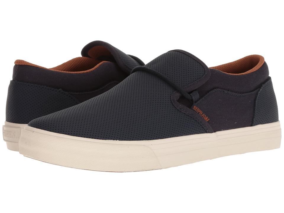 Supra Cuba (Navy/Bone) Men's Skate Shoes