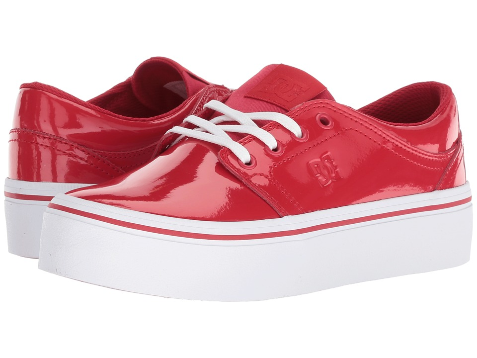 DC Trase Platform SE (Red) Women's Shoes