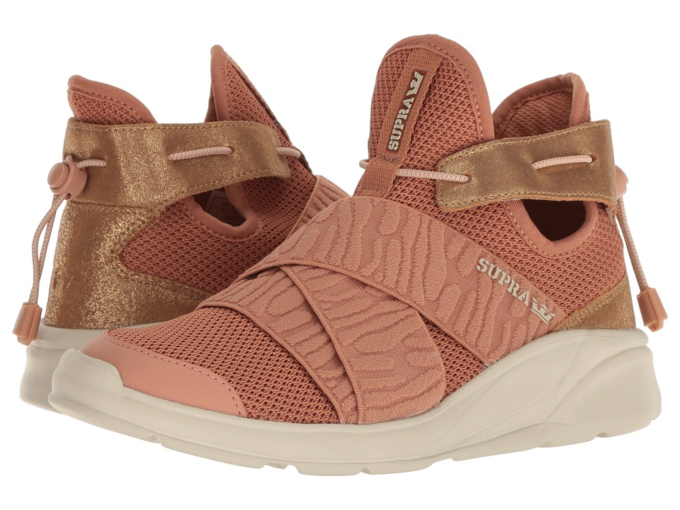 Supra Anevay (Cork/Champagne/Bone) Women's Skate Shoes