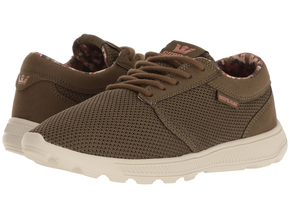 Supra Hammer Run (Olive/Bone) Women's Skate Shoes