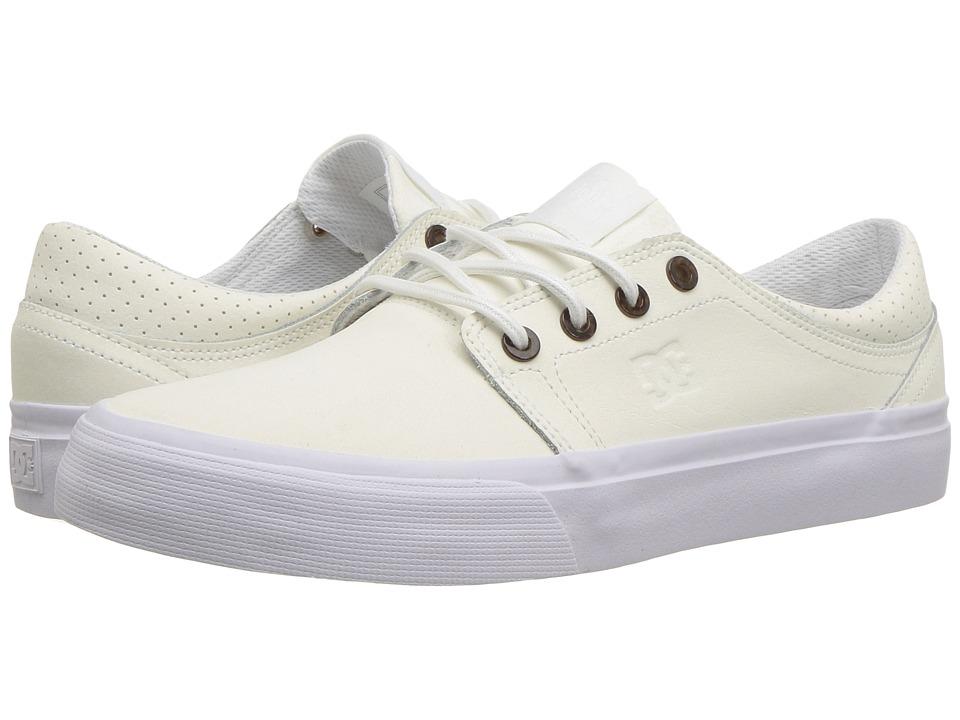 DC Trase SE (White) Women's Skate Shoes