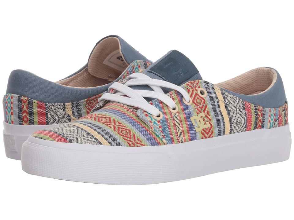 DC Trase TX SE (Multi 1) Women's Skate Shoes