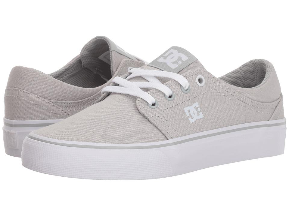 DC Trase TX (Grey Ash) Women's Skate Shoes