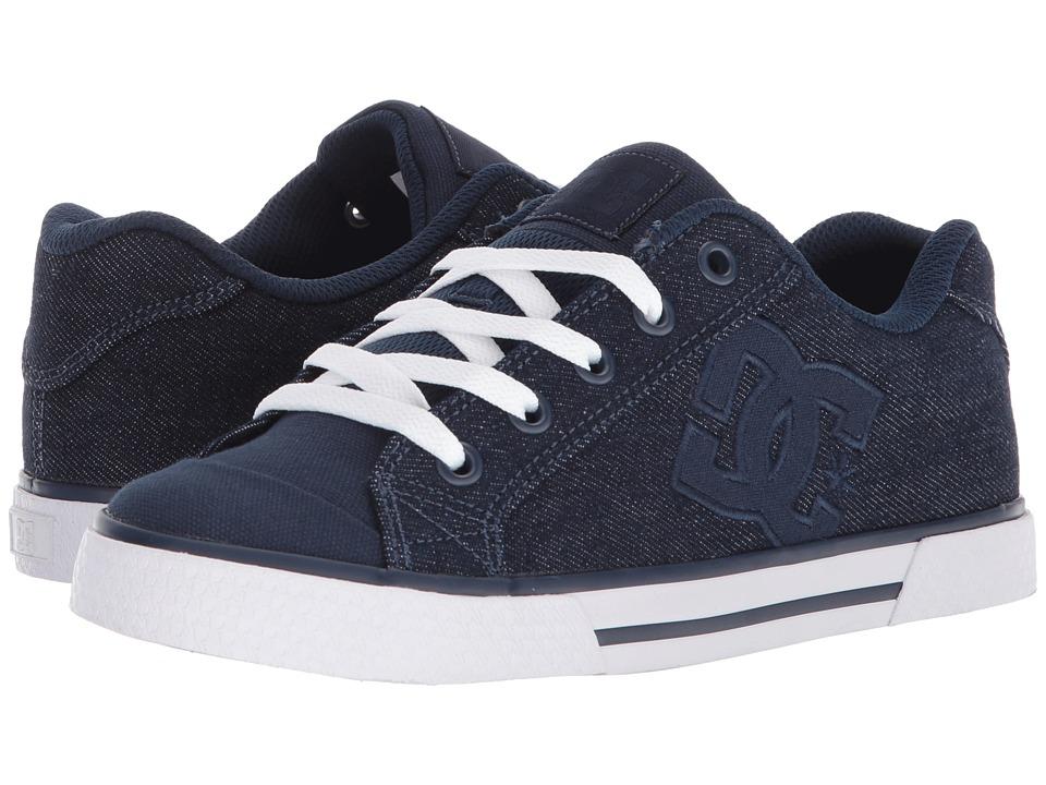 DC Chelsea TX SE (Dark Blue) Women's Skate Shoes