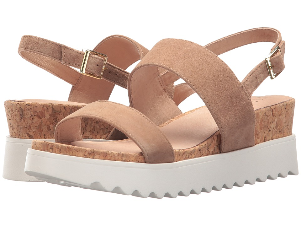 Steven - NC-Khaos (Tan Suede) Women's Sandals