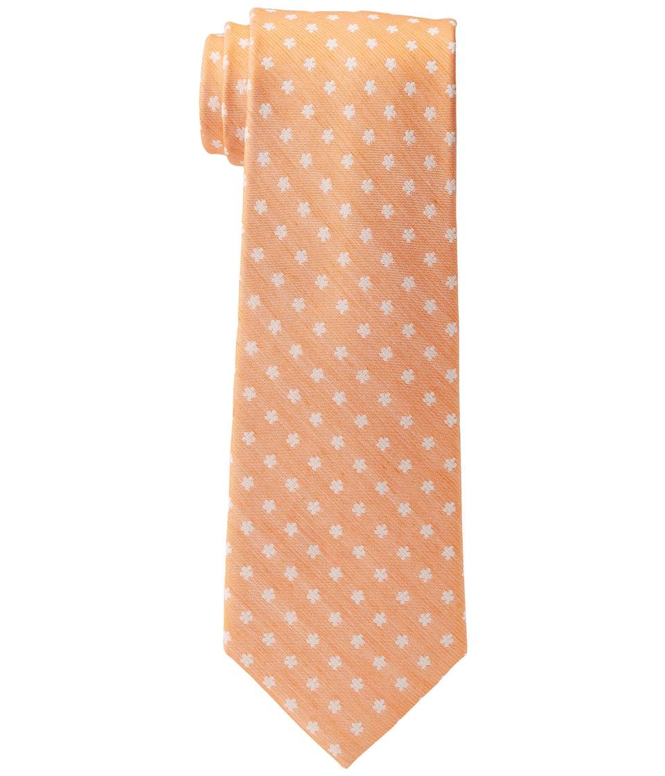 Tommy Hilfiger Washed Neat (Orange) Ties