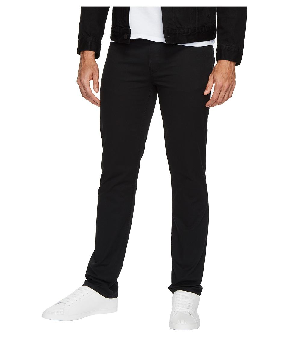 Calvin Klein Jeans Slim Straight Stretch Calvary Pants (Black) Men