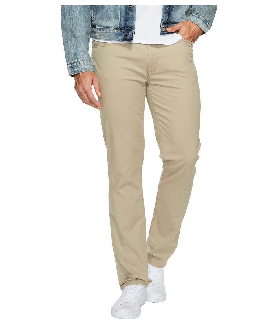 Calvin Klein Jeans Slim Straight Stretch Calvary Pants (Aluminum) Men