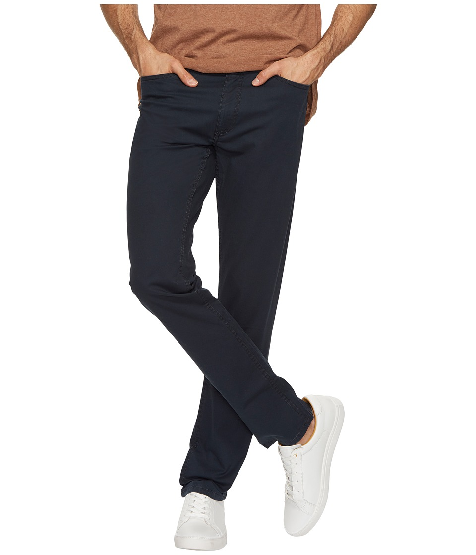 Calvin Klein Jeans Slim Straight Stretch Calvary Pants (Dark Navy) Men