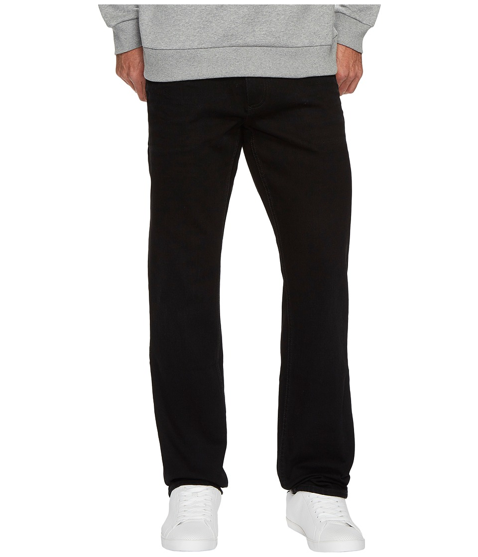 Calvin Klein Jeans Slim Straight Fit Jeans in Worn In Black (Worn In Black) Men