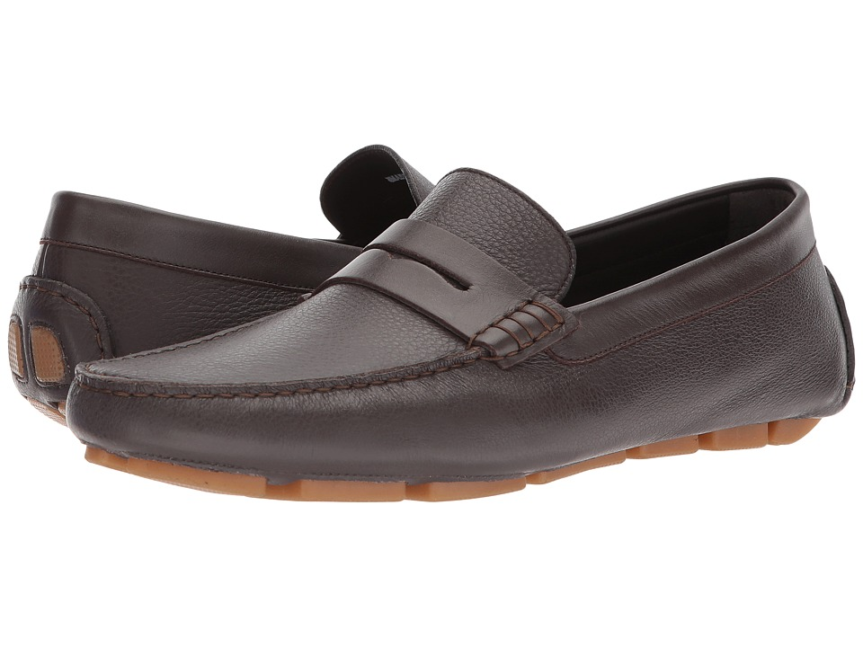 Canali - Penny Driver (Brown) Mens Slip on  Shoes
