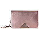 Emporio Armani Metallic Smooth Leather Cross Body