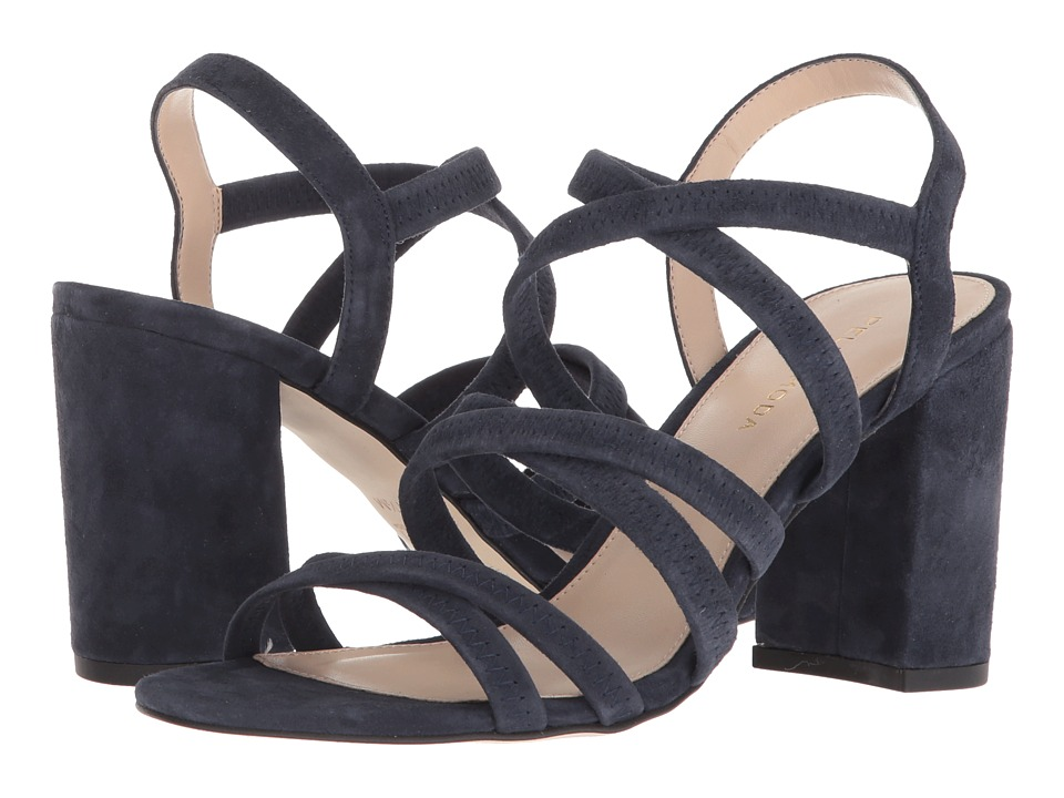 Pelle Moda - Grace (Midnight Suede) Womens Shoes