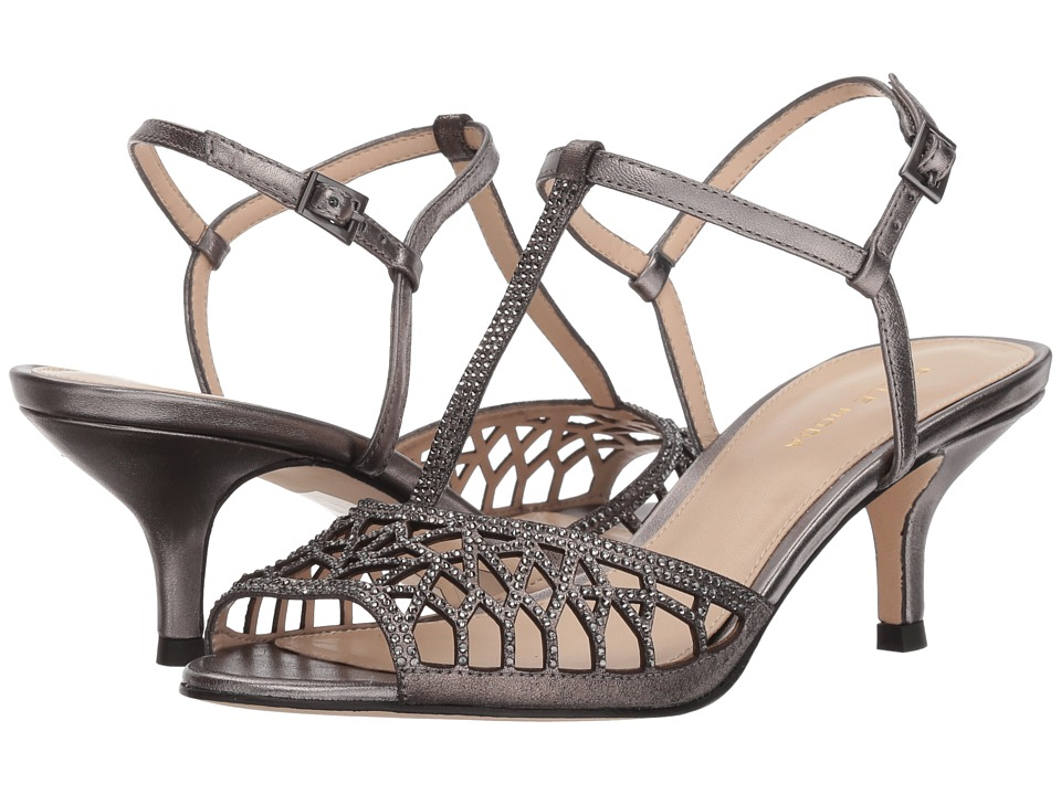 Pelle Moda - Adaline (Pewter Metallic Suede) Womens Shoes