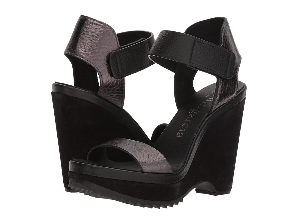 Pedro Garcia - Vida 858 (Antracite Cervo Lame) Women's Sandals