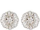 Nina Nina Sunburst Clip Earrings