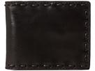 John Varvatos Star U.S.A. Leather Pick-Stitch Bifold Wallet