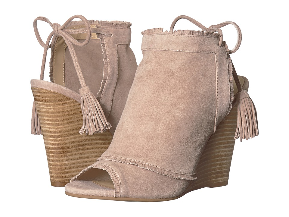 Kristin Cavallari Leilani Wedge (Harbor Grey Kid Suede) Wedges