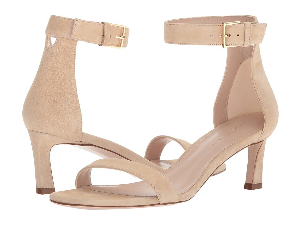 Stuart Weitzman 45squarenudist (Wheat Luxe Suede) Women's Shoes