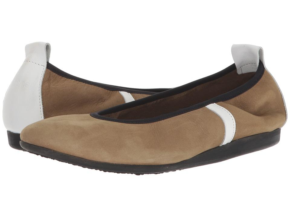 Arche - Lamour (Sand/Blanc) Womens Shoes
