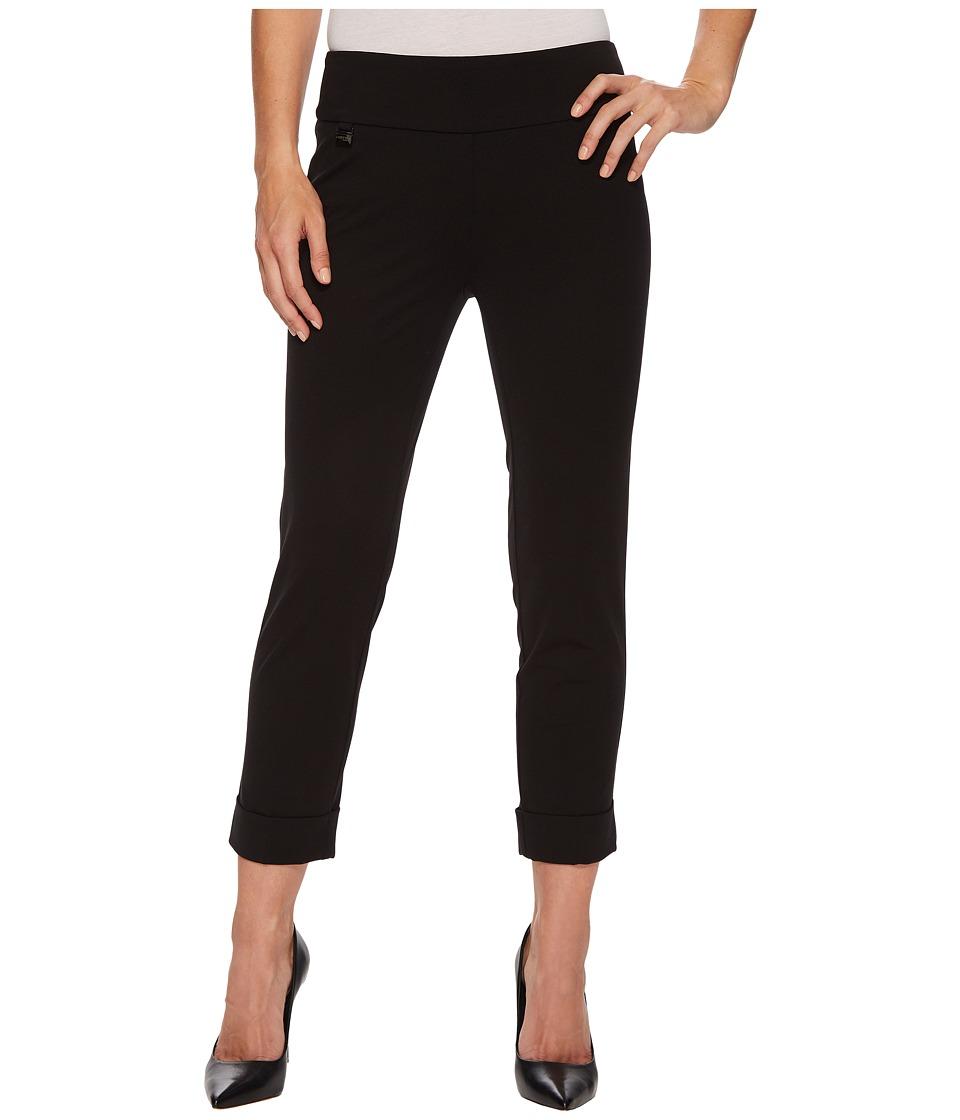 Lisette L Montreal - Kathryne Cuffed Crop Pants (Black) Womens Casual Pants